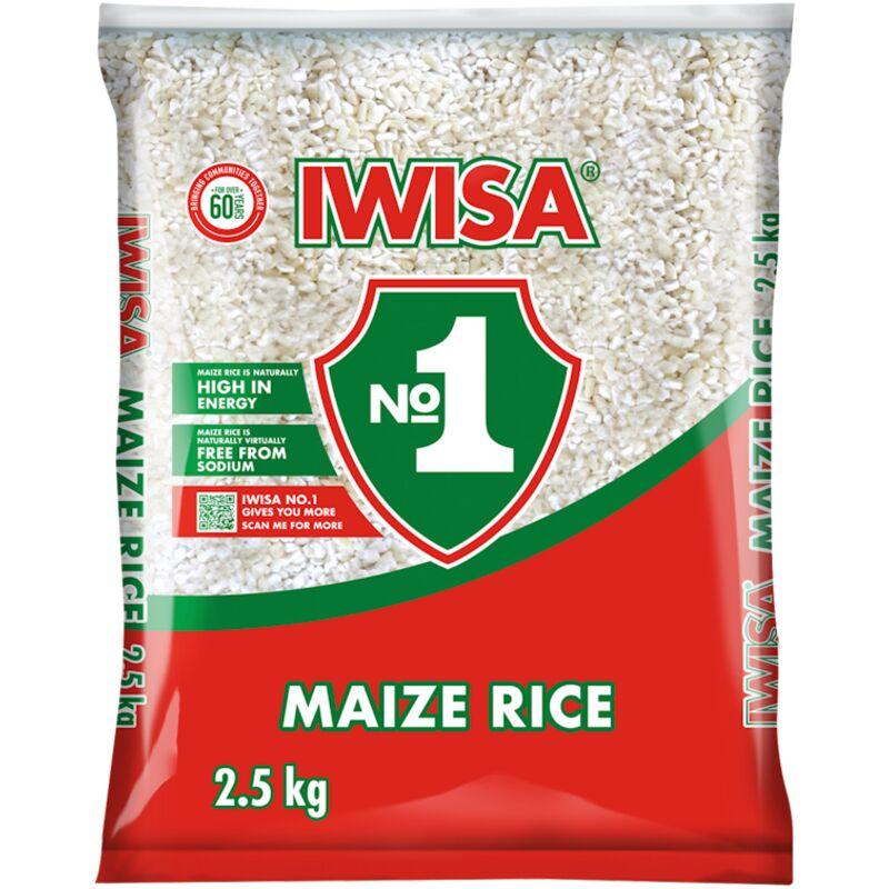 IWISA MAIZE RICE PLST – 2.5KG