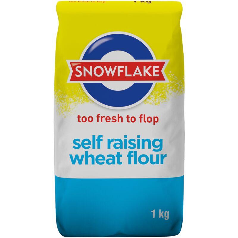 SNOWFLAKE FLOUR SELF RAISING – 1KG