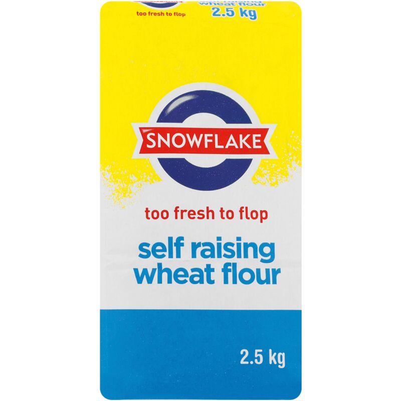 SNOWFLAKE FLOUR SELF RAISING – 2.5KG