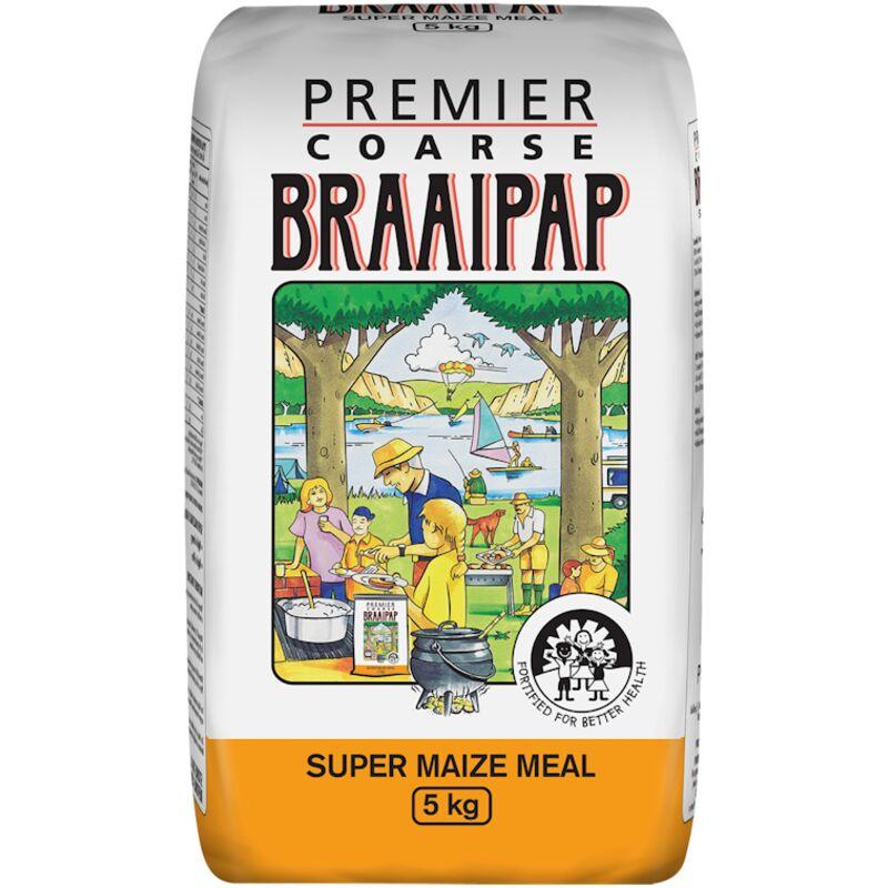 PREMIER BRAAIPAP – 5KG