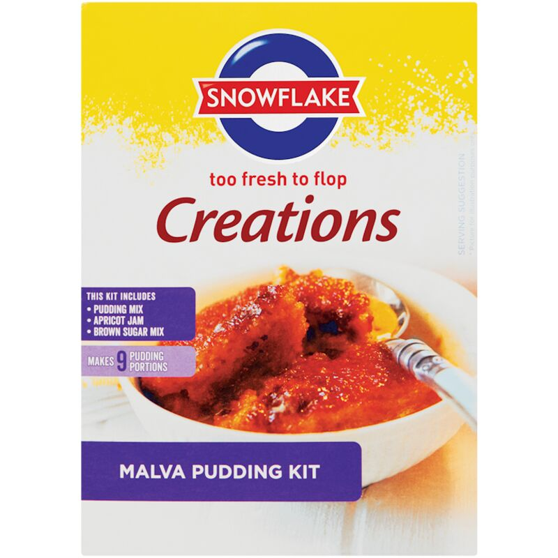 SNOWFLAKE CREATIONS MALVA PUDDING – 400G