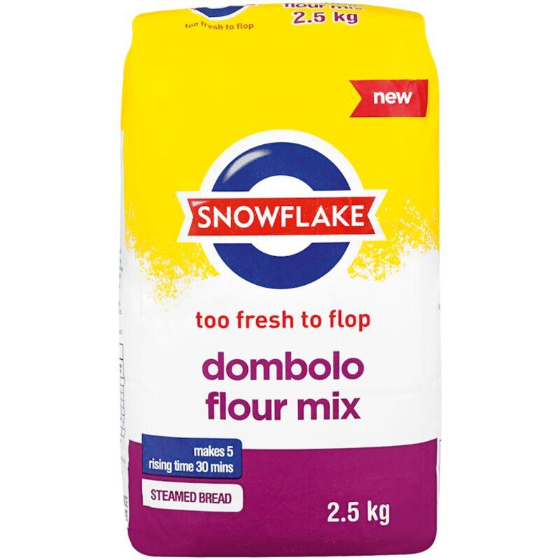 SNOWFLAKE DOMBOLO FLOUR MIX – 2.5KG
