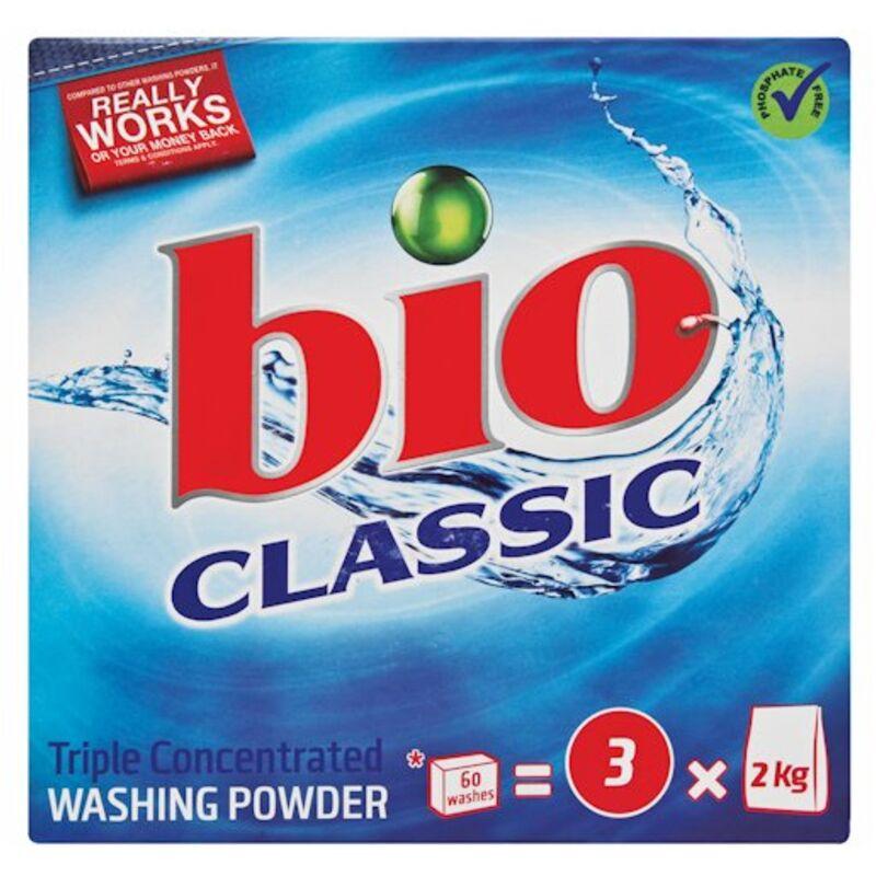 BIO CLASSIC WASHING POWDER TRIPLE ACTION – 1.5KG