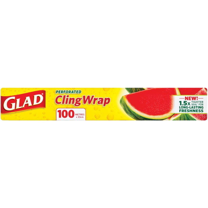 GLAD CLINGWRAP PERFORATED – 100M