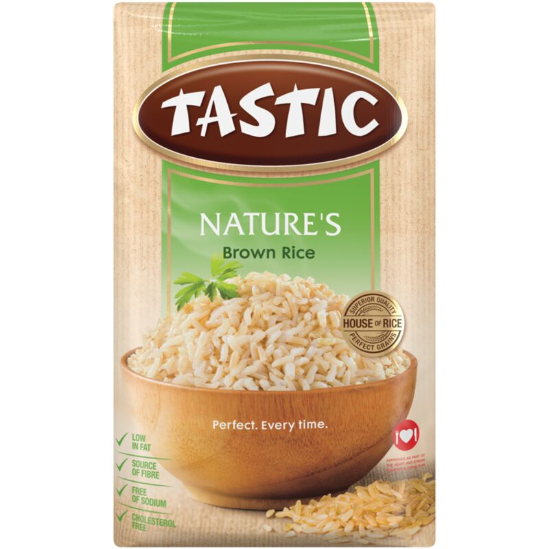 TASTIC NATURE OLD MILL STREAM BROWN RICE – 2KG