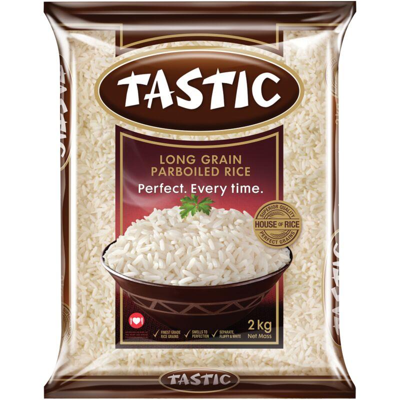 TASTIC RICE PARBOILED – 2KG