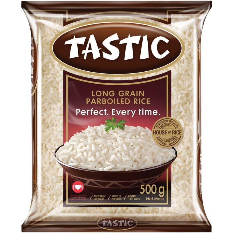 TASTIC RICE PARBOILED – 500G