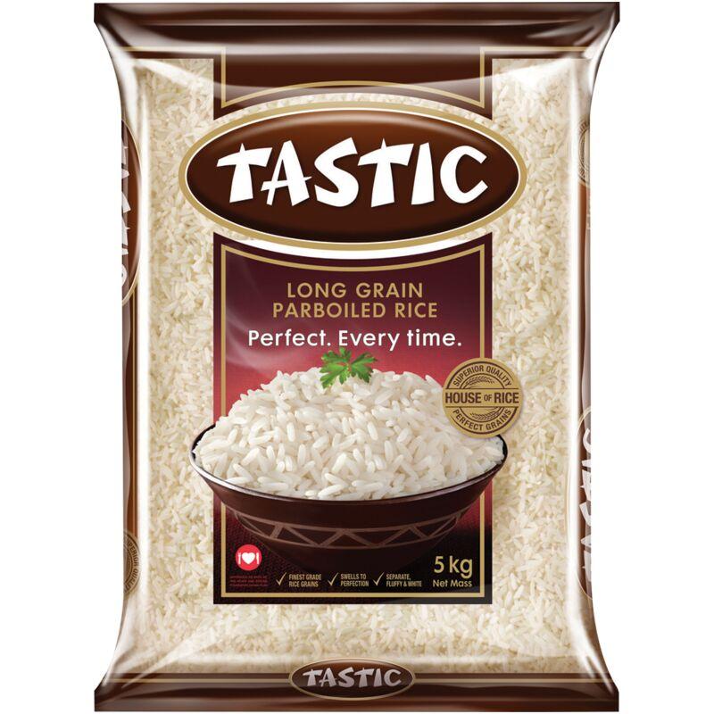 TASTIC RICE PARBOILED – 5KG