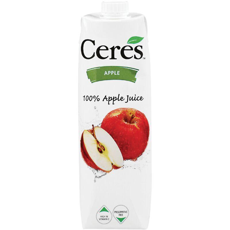CERES FRUIT JUICE CLEAR APPLE – 1L