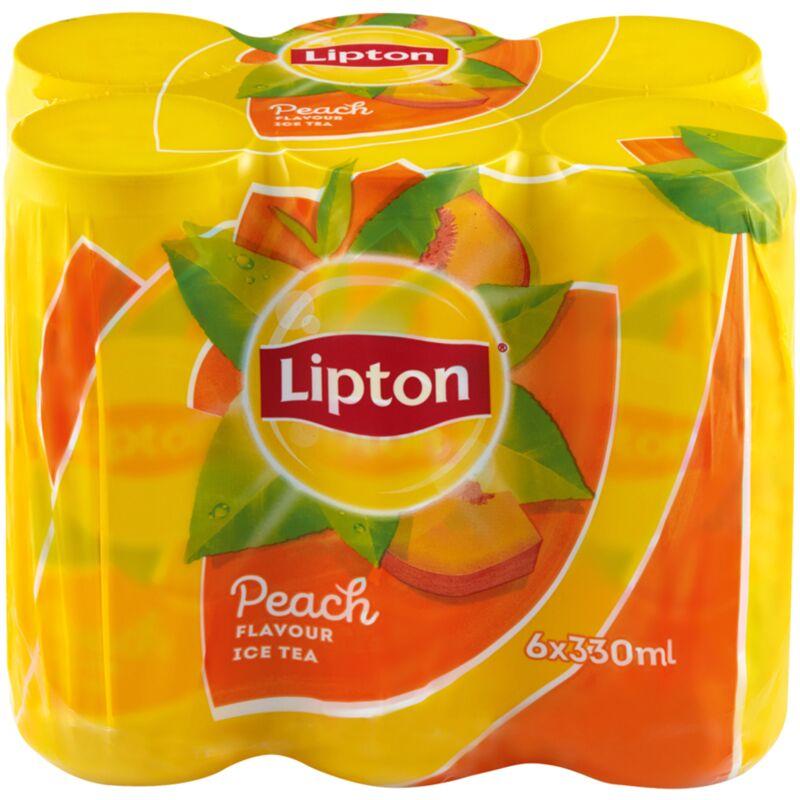 LIPTON ICE TEA PEACH 6S – 330ML