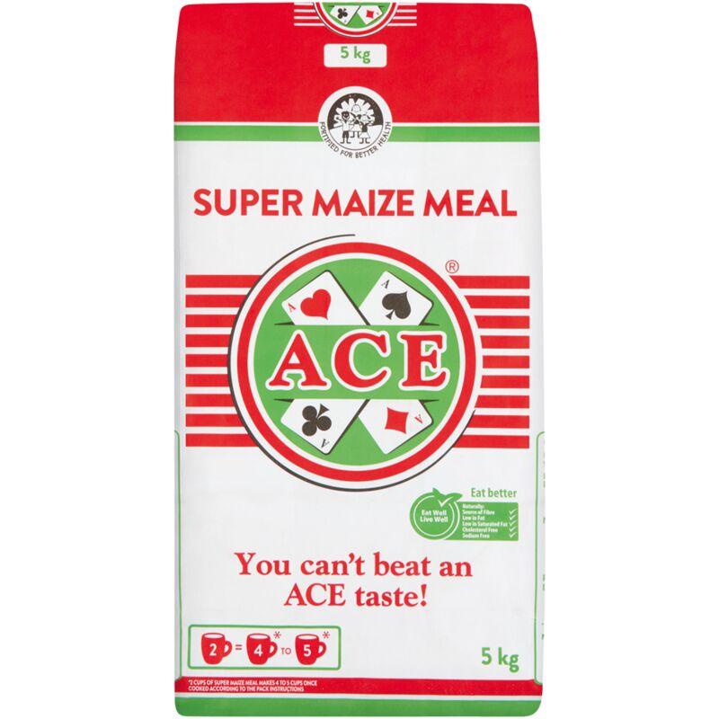 ACE SUPER MAIZE MEAL PA – 5KG