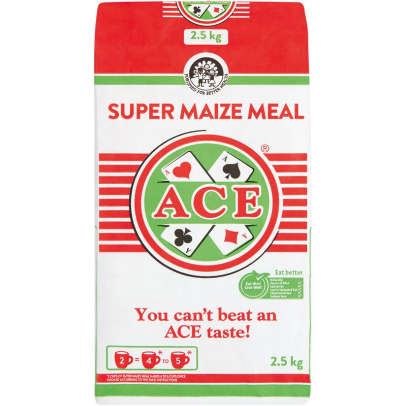 ACE SUPER MAIZE MEAL – 2.5KG
