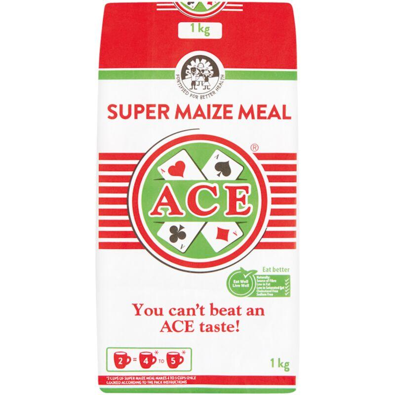 ACE SUPER MAIZE MEAL (PAPER BAG) – 1KG