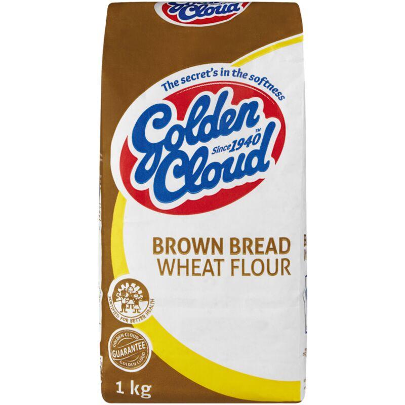 GOLDEN CLOUD FLOUR BREAD BROWN – 1KG