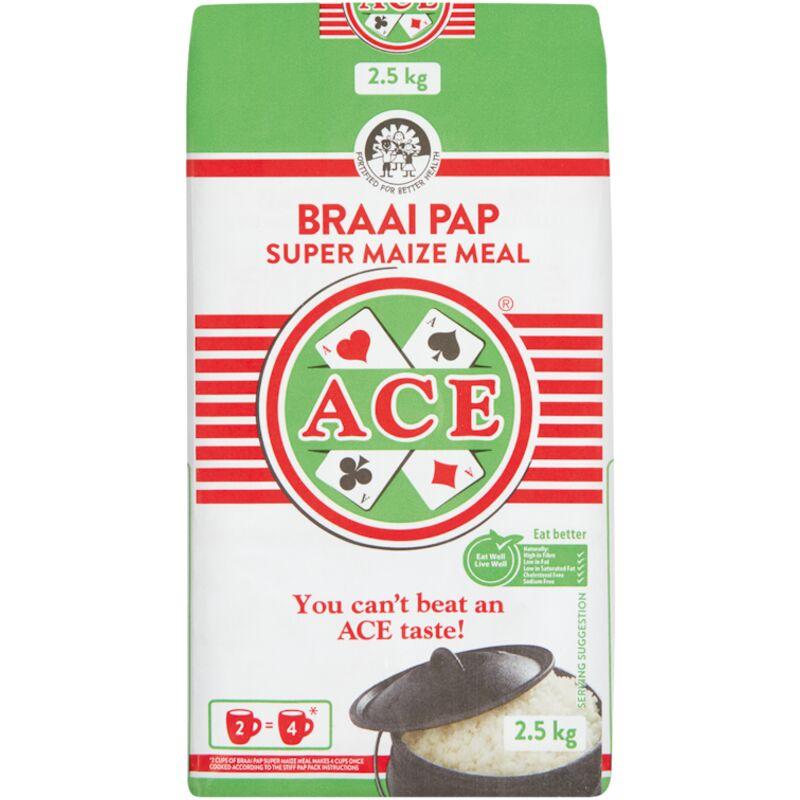 ACE BRAAI PAP – 2.5KG