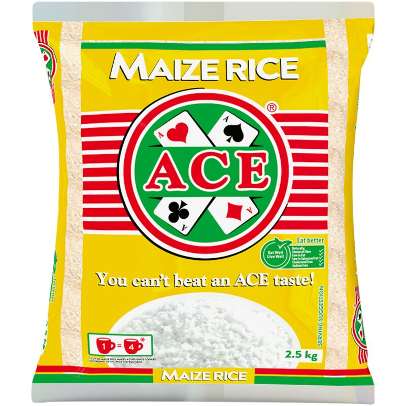 ACE MAIZE MEAL RICE – 2.5KG