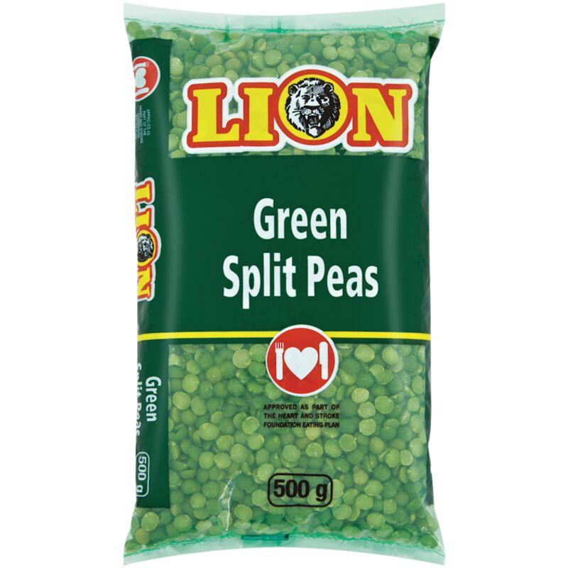 LION SPLIT PEAS GREEN – 500G