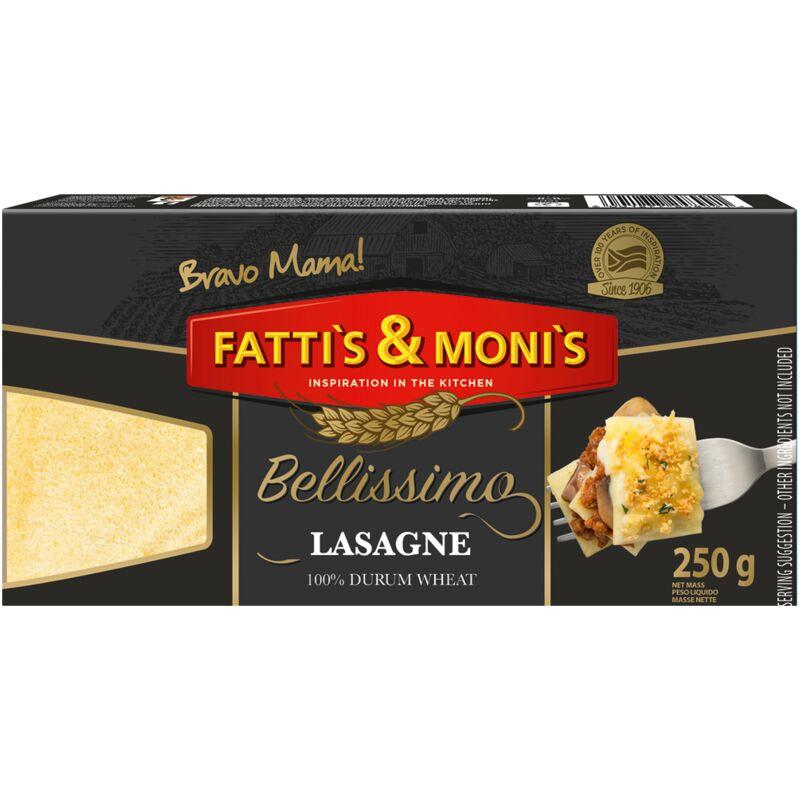 FATTIS & MONIS BELLISSIMO LASAGNE – 250G