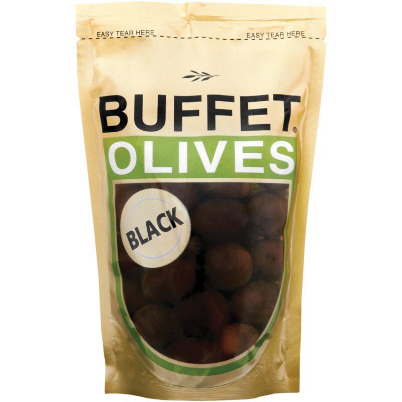 BUFFET OLIVES BLACK ITALIAN – 200G