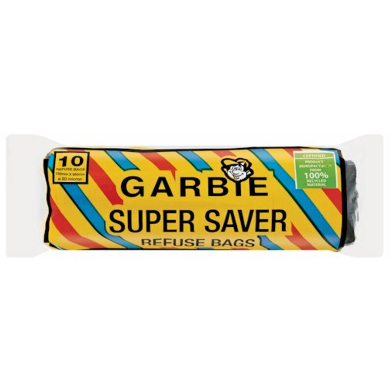 GARBIE SUPERSAVER REFUSE BAGS ON ROLL – 10S