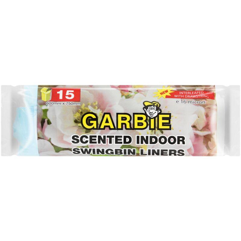 GARBIE SWINGBIN LINERS SCENTED 15S – 15S