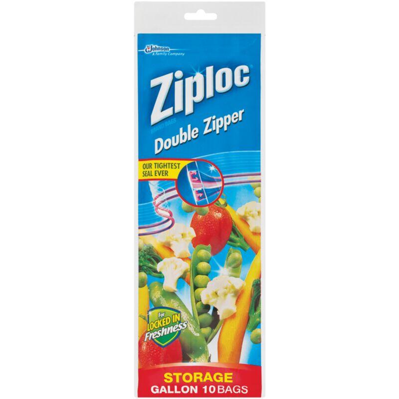 ZIPLOC STORAGE BAG LARGE – 10S