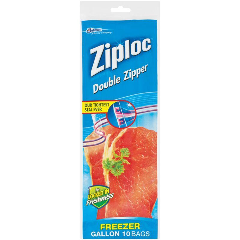 ZIPLOC FREEZER BAG LARGE – 10S