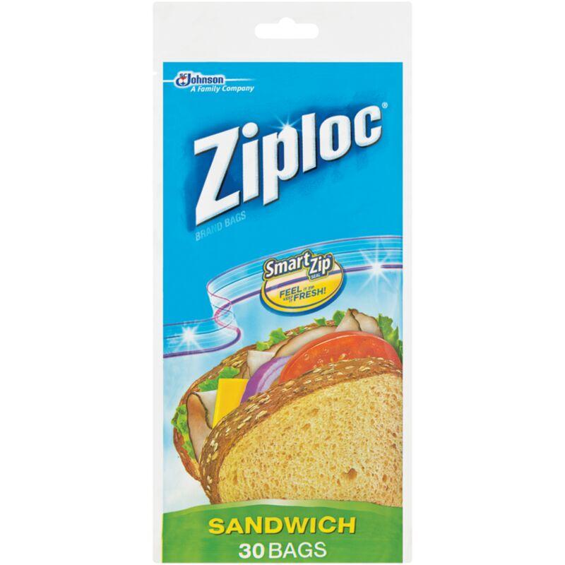 ZIPLOC SANDWICH BAG – 30S