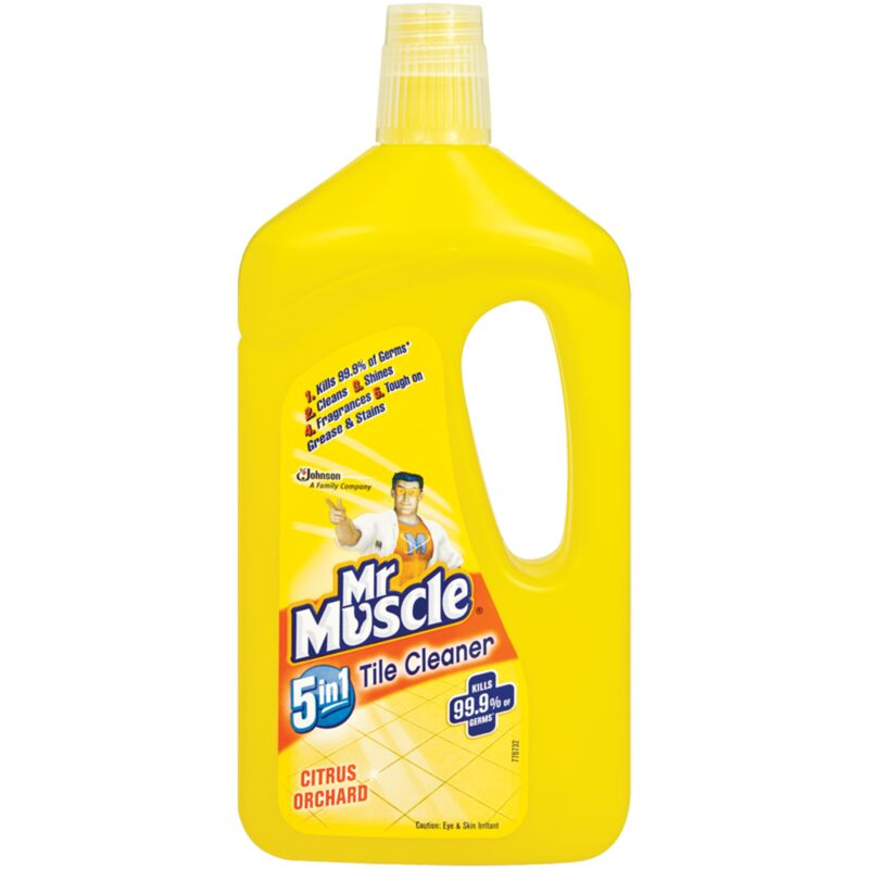 MR MUSCLE TILE CLEANER CITRUS ORCHARD – 750ML