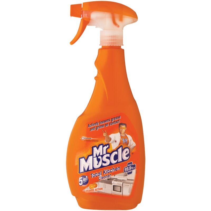 MR MUSCLE KITCHEN CLEANER ORANGE TRIGGER – 500ML