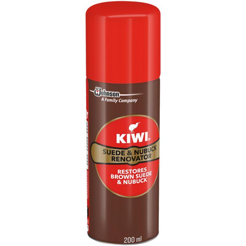 KIWI SUEDE & NUBUCK RENOVATOR BROWN – 200ML