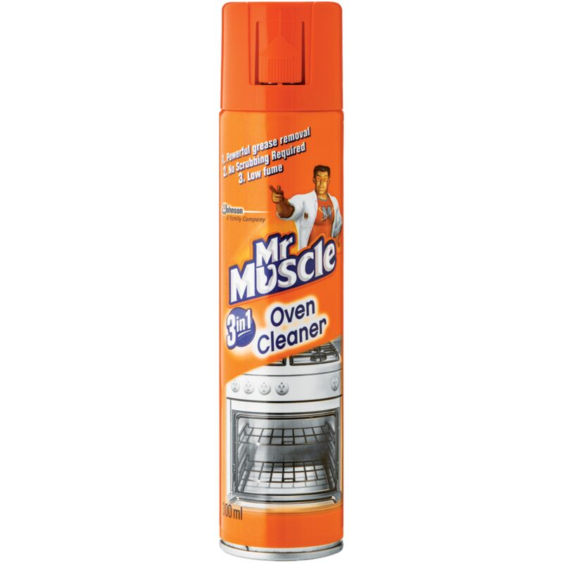 MR MUSCLE OVEN CLEANER 3IN1 – 300ML