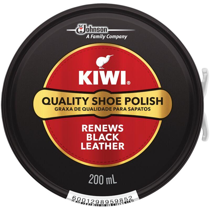 KIWI SHOE POLISH BLACK – 200ML