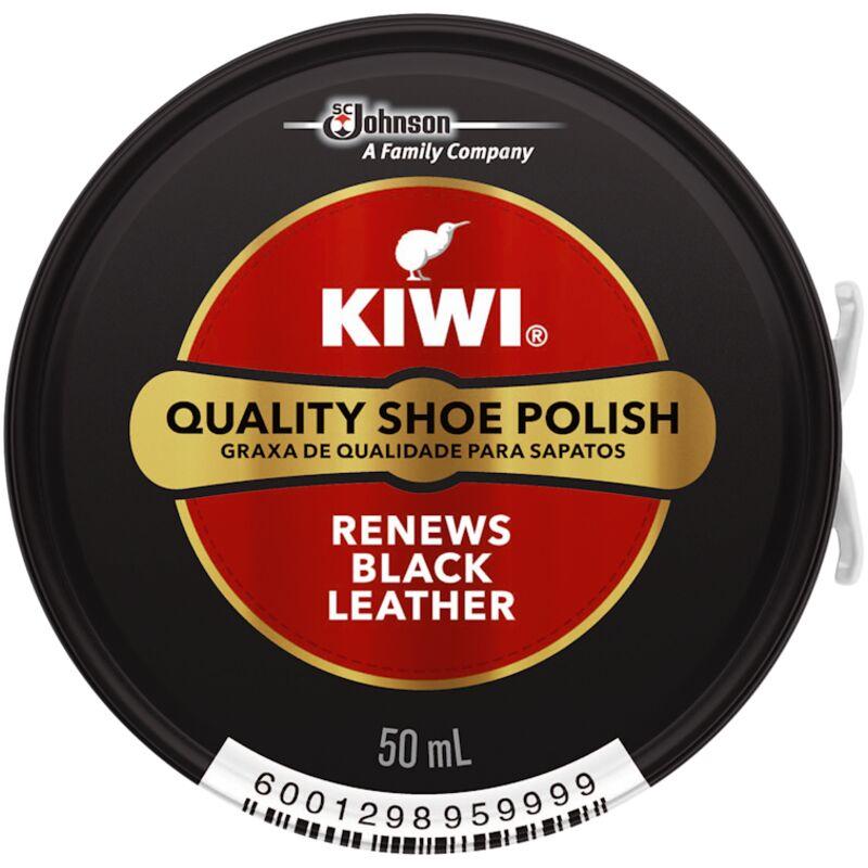 KIWI SHOE POLISH BLACK – 50ML