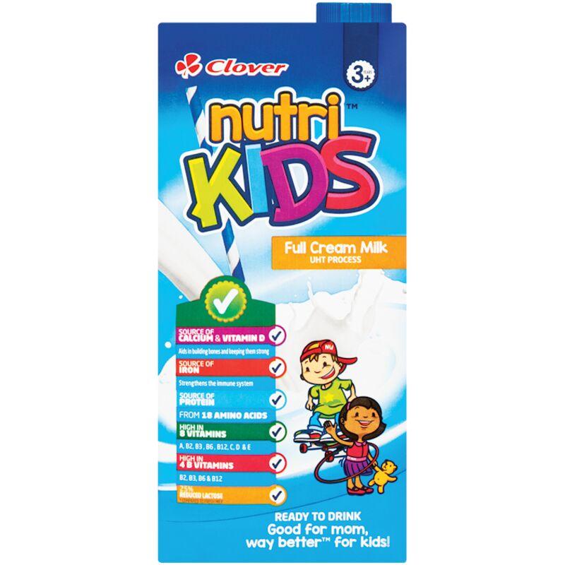 NUTRIKIDS MILK FULL CREAM RTD 3 – 1L