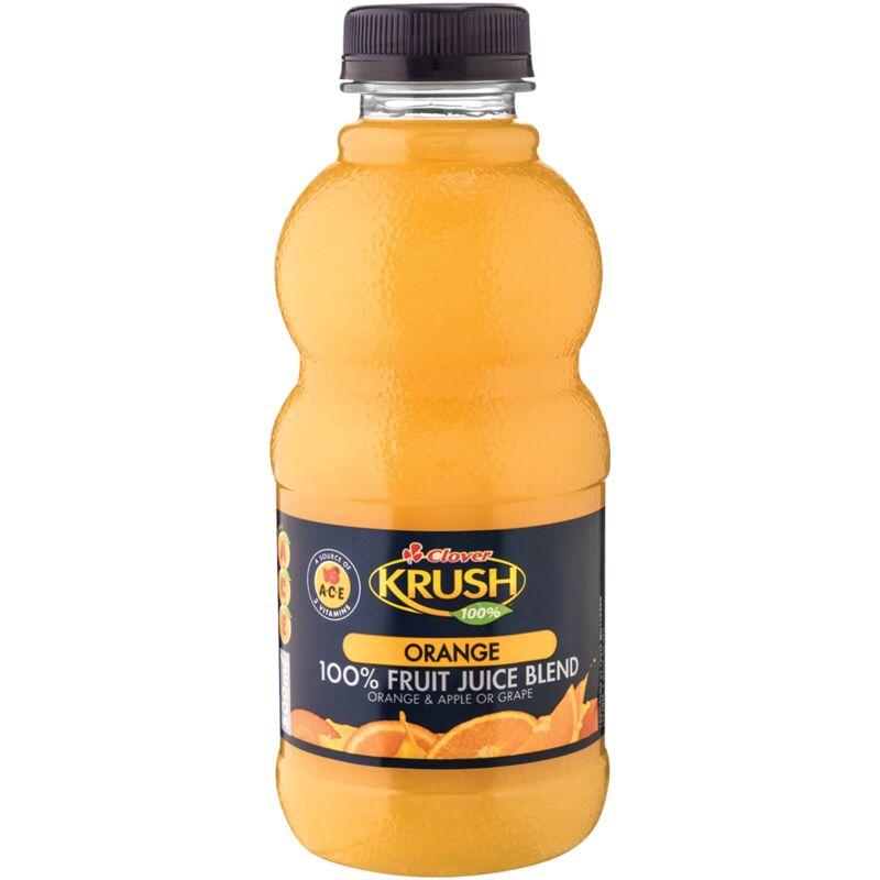 KRUSH 100% ORANGE FRUIT JUICE BLEND – 500ML