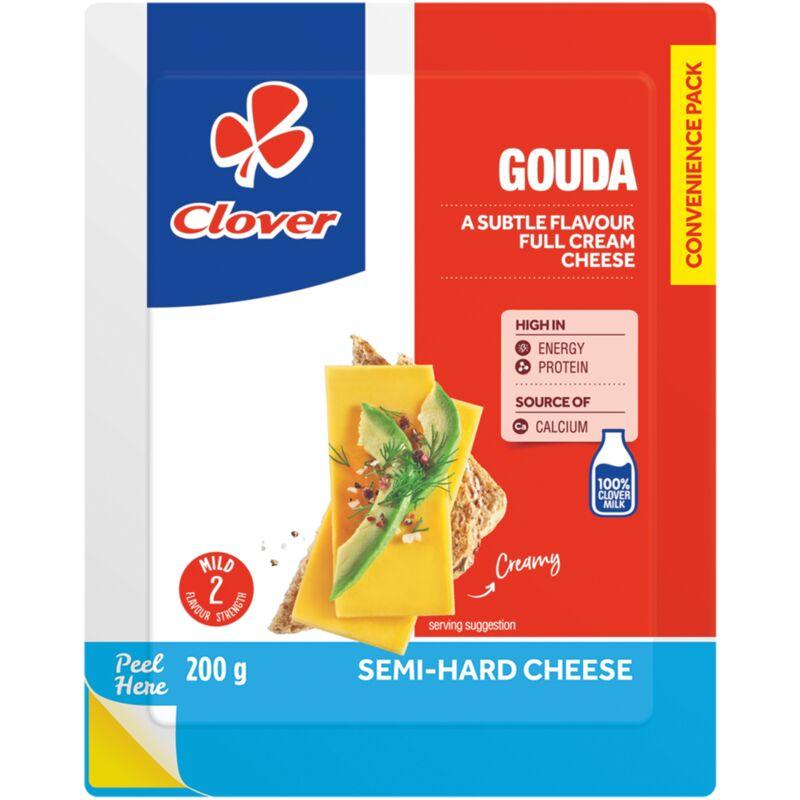CLOVER GOUDA CHEESE VACUUM PACK – 200G