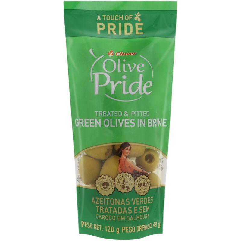 OLIVE PRIDE OLIVES GREEN TREATPIT – 120G