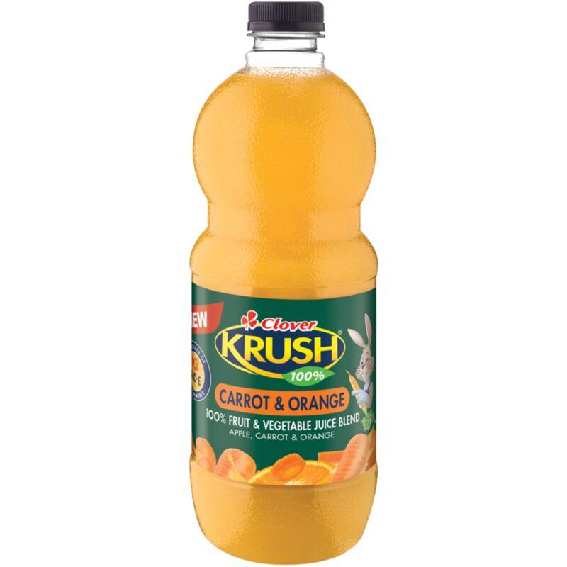 KRUSH 100% FRUIT JUICE CARROT & ORANGE – 1.5L
