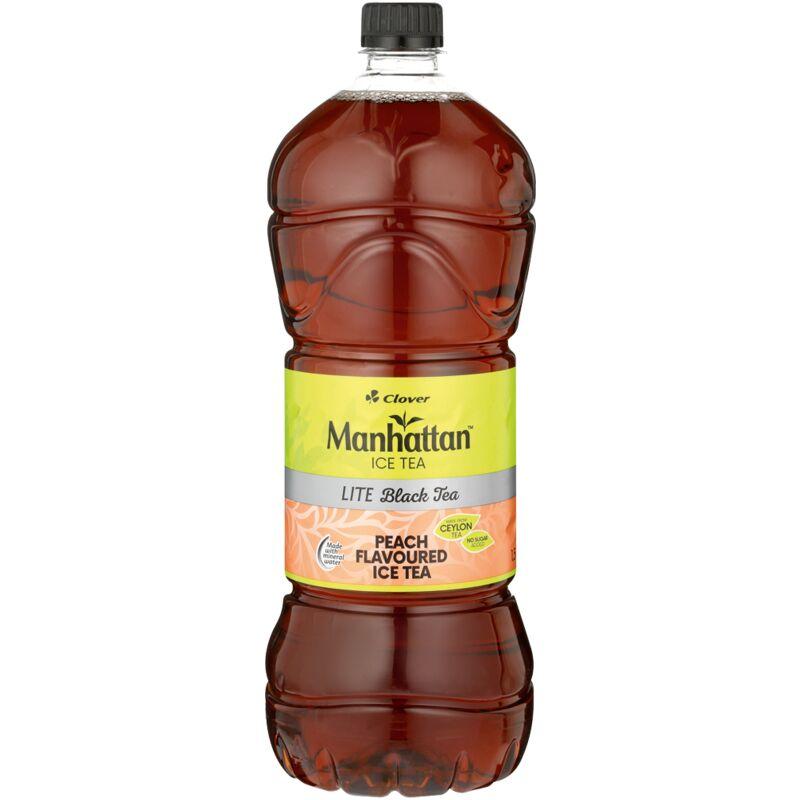 MANHATTAN PEACH LITE ICED TEA – 1.5L