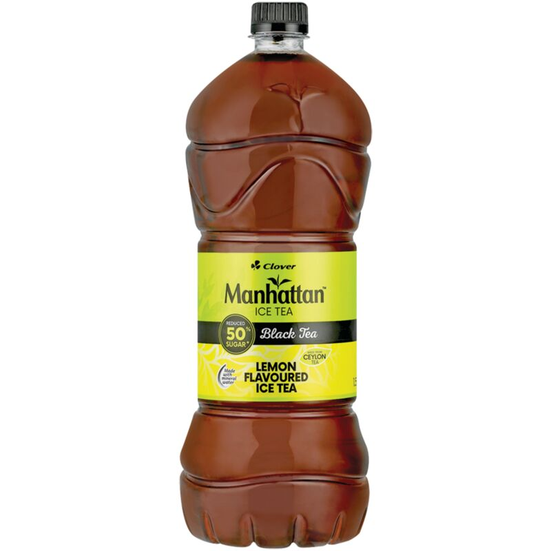 MANHATTAN LEMON ICED TEA – 1.5L