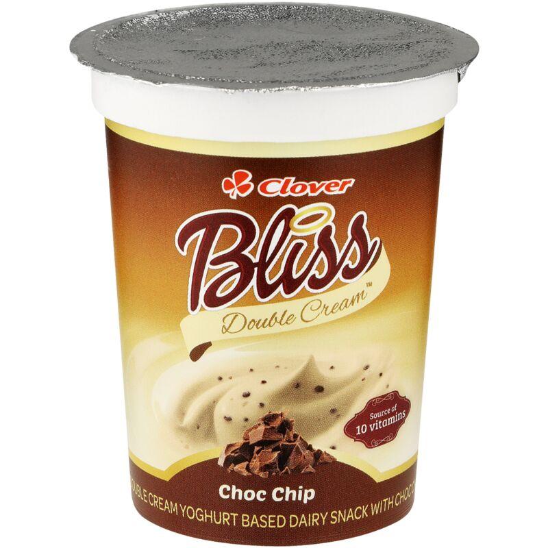 CLOVER BLISS YOGHURT DOUBLE CREAM CHOCOLATE CHIP – 175ML