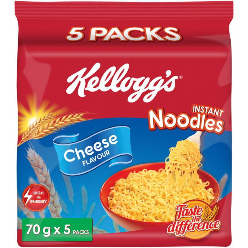 KELLOGGS NOODLES CHEESE – 5S