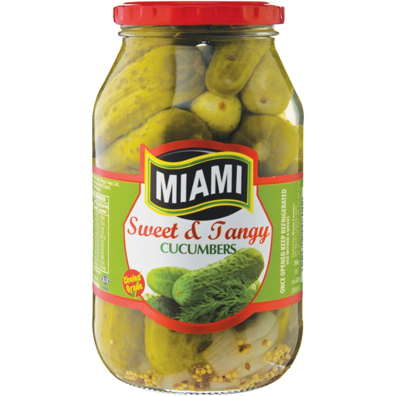 MIAMI SWEET & TANGY CUCUMBER – 760G