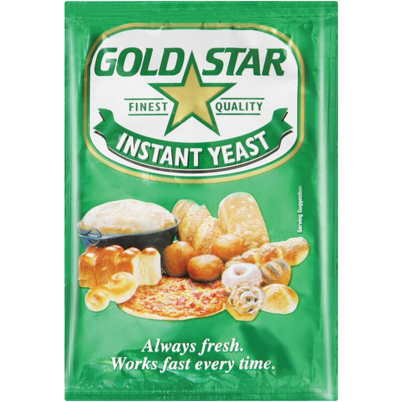 GOLD STAR YEAST INSTANT – 10G