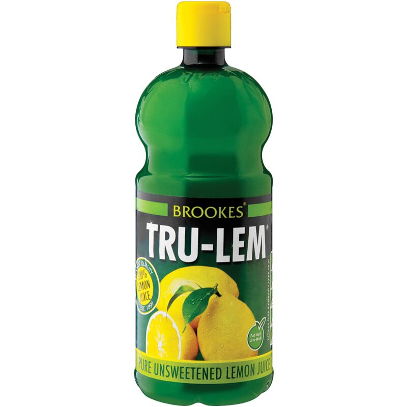 BROOKES TRU-LEM LEMON JUICE – 500ML