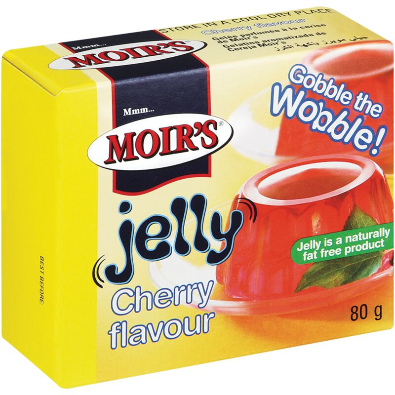 MOIRS JELLY CHERRY – 80G