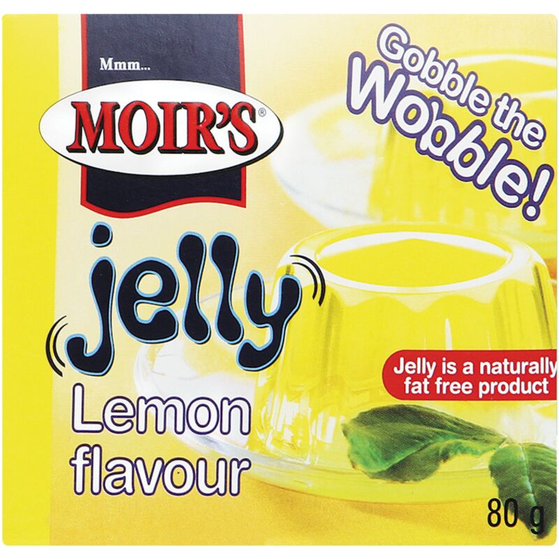 MOIRS JELLY LEMON – 80G