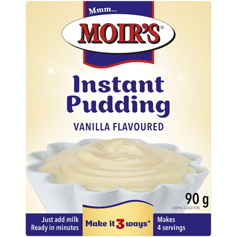 MOIRS VANILLA INSTANT PUDDING – 125ML