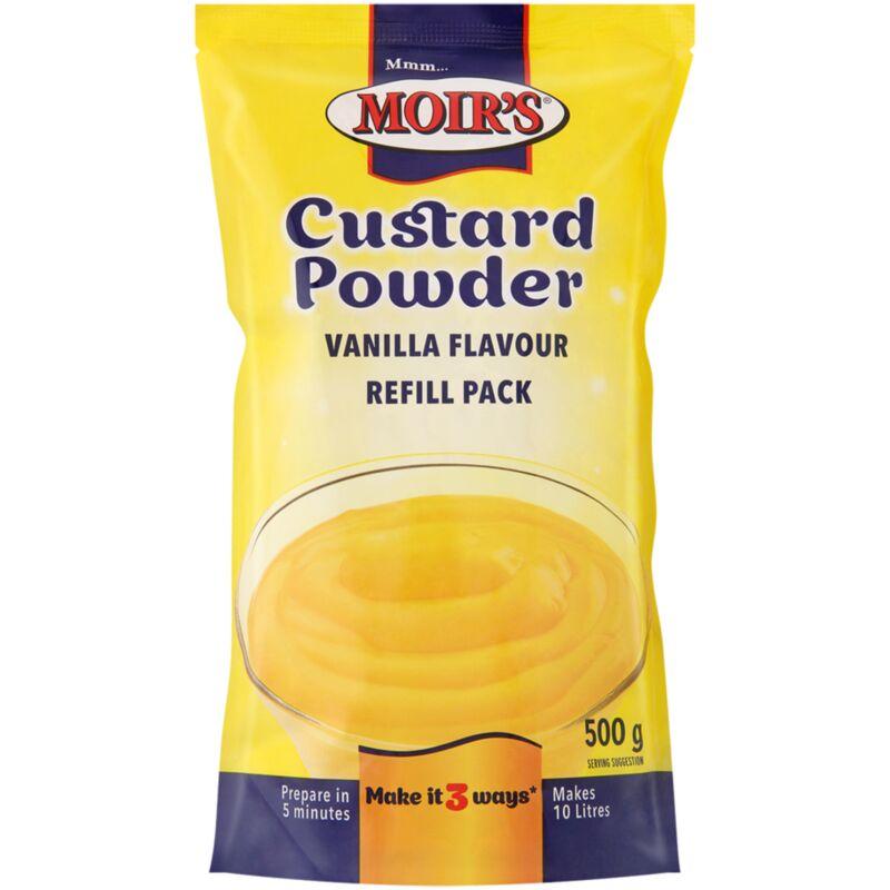 MOIRS CUSTARD POWDER REFILL – 500G